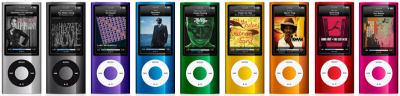 iPod Nano at a glance